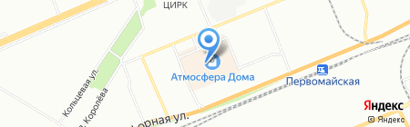 СНТ на карте Красноярска