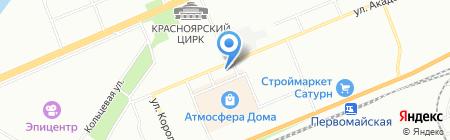 Zakazpechatei.ru на карте Красноярска