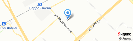 Альфа на карте Красноярска