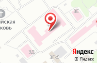Схема проезда до компании Сиббио в Красноярске