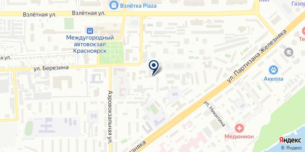 ОХРАННОЕ АГЕНТСТВО ОХРАНА-КРАСНОЯРСК на карте Красноярске