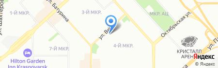Банкомат АЛЬФА-БАНК на карте Красноярска