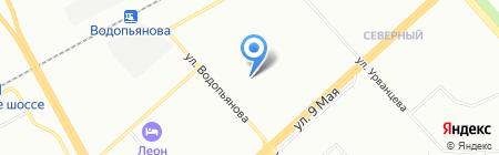 Айгун на карте Красноярска