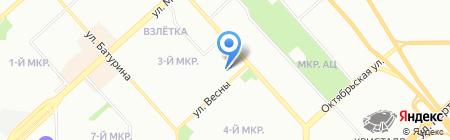 Партнер XXI на карте Красноярска