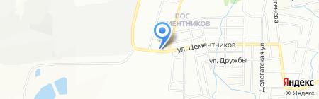 Краснопресненский на карте Красноярска
