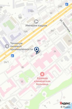 ТОРГОВАЯ ФИРМА МЕДИАЛАБ на карте Красноярска