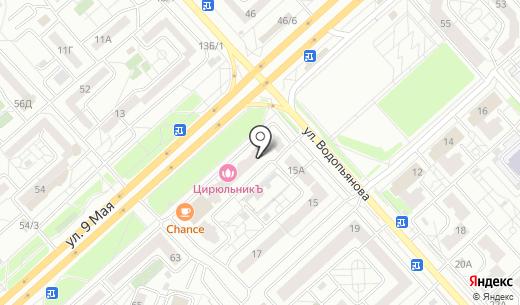 Двери Рада. Схема проезда в Красноярске