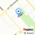 Нарядный дом на карте Красноярска