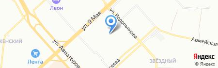 Банкомат Дальневосточный банк на карте Красноярска