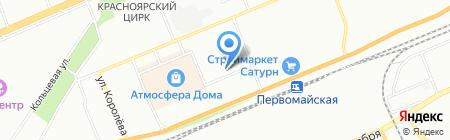 Фэй Ма на карте Красноярска