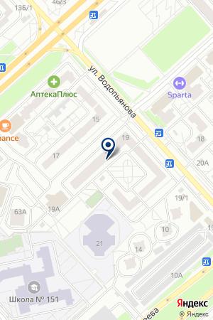 САЛОН КРАСОТЫ LILI на карте Красноярска