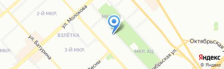 Джи Эс на карте Красноярска
