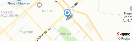 ЭкономЖилСтрой на карте Красноярска
