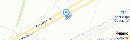 Проплекс на карте Красноярска