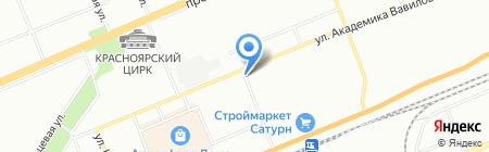 Diamante на карте Красноярска