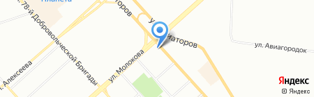 Пластиковые ОКНА на карте Красноярска