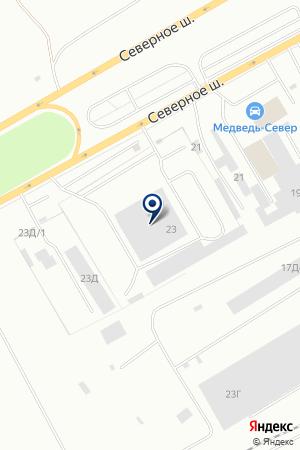 ТОРГОВАЯ ФИРМА В.С.Р.К. на карте Красноярска