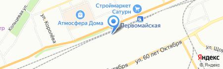 UPGRADE на карте Красноярска