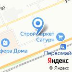 РТТ на карте Красноярска