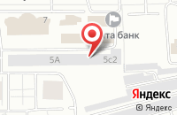Схема проезда до компании Центр-Ст в Красноярске