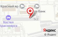 Схема проезда до компании ИМТ Луч в Столбище