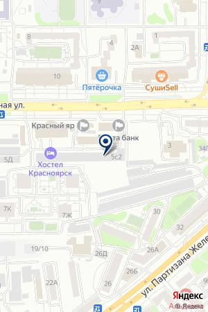 СТРОЙЭКСПЕРТИЗА на карте Красноярска