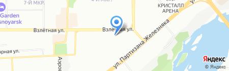 Азбука ремонта на карте Красноярска