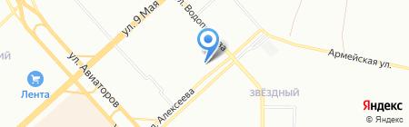 А-24 на карте Красноярска