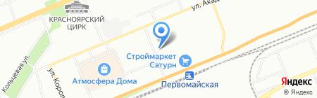 Проф-Аудит на карте Красноярска