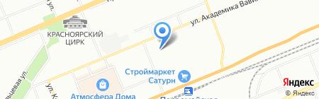 Мир сварки на карте Красноярска