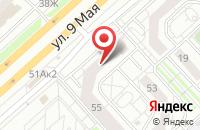 Схема проезда до компании МАГАЗИН СПЕКТР в Бородино