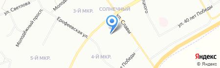 Детский сад №326 для детей с туберкулезной интоксикацией на карте Красноярска