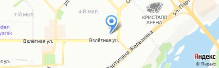 Открытие на карте Красноярска