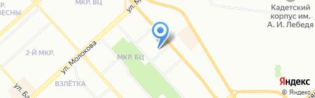 ВЕЛЕС-Монтаж на карте Красноярска