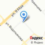 Пилон на карте Красноярска