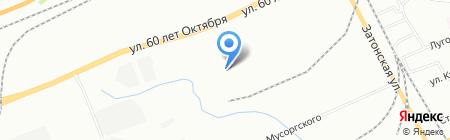 Алекс на карте Красноярска