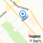 Строительный стандарт на карте Красноярска