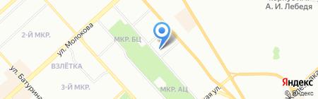 Монтаж-Строй на карте Красноярска