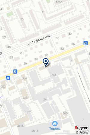 ПТК БЕЛКРАС на карте Красноярска
