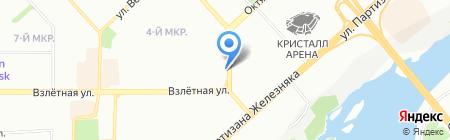 Страсть на карте Красноярска