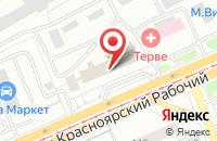 Схема проезда до компании Красноярская Пресса-Красноярск в Красноярске