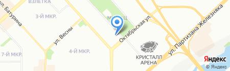 Центр защиты информации на карте Красноярска