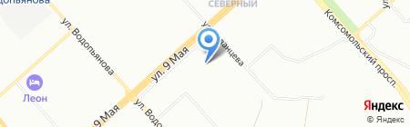 Мария на карте Красноярска