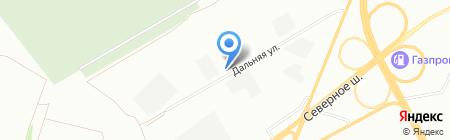 Торгхолод на карте Красноярска