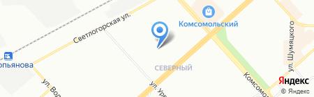 Dolce Vita на карте Красноярска