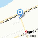 СДЭК на карте Красноярска