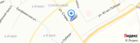 Двери Кухни & Шкафы на карте Красноярска