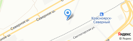 Евразия Снаб на карте Красноярска
