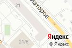 Схема проезда до компании ТАЙГА в Красноярске