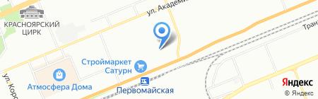 Ковчег Гри на карте Красноярска